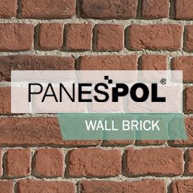 mur en brique panespol